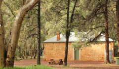 The last night was spent in the comfort of the historical Arkaba homestead (photo: Lara Picone).