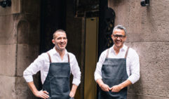 Chefs Peter Doyle and Nathan Sasi run Mercado in Sydney (photo: Caroline McCredie).