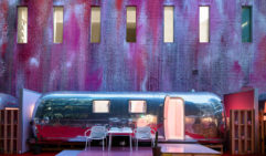 Trailer park chic: Melbourne's Airstream-filled Notel.