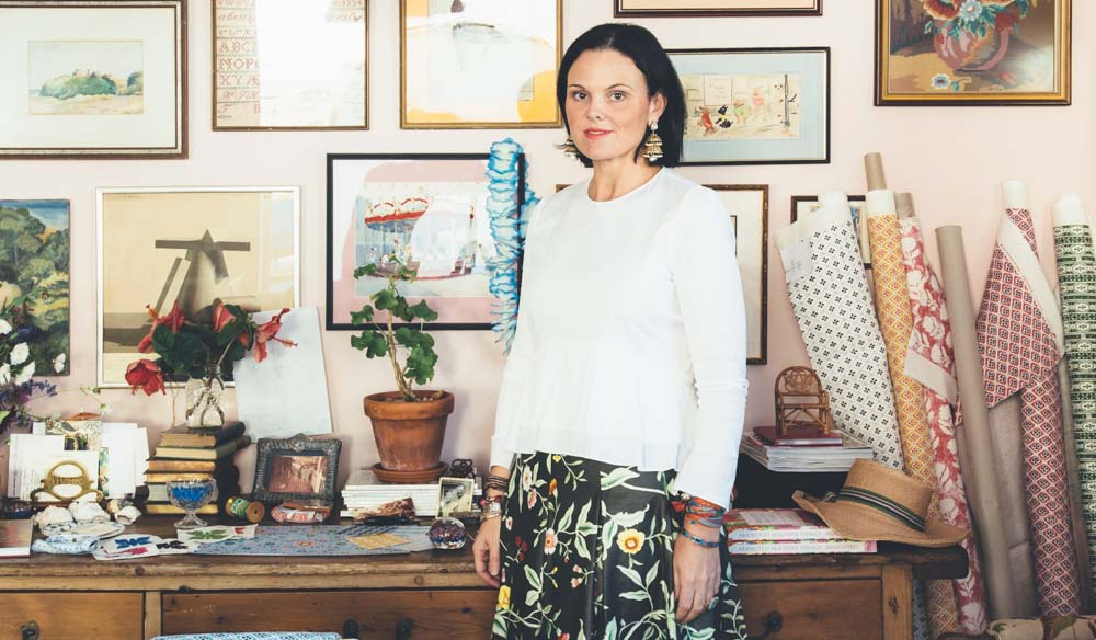 Brisbane-based Interior designer Anna Spiro (photo: Jared Fowler).