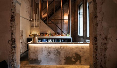 Sydney's Beta Bar is designed by DS17, the exposed brick and marble work is a balance between the old and new.