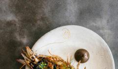Elegantly presented dish by Fleet. Brunswick Heads (photo: Elise Hassey).