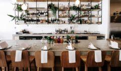 Interior of Brunswick Head's Fleet restaurant (photo: Elise Hassey).