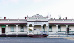 The old Longreach railway station, built in 1916 (photo: Michael Wee).