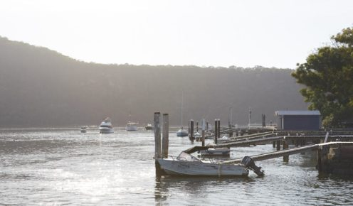 Private jetties line the banks of Dangar Island  (photo: Alicia Taylor).