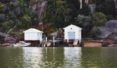 Well-loved Hawkesbury boathouses  (photo: Alicia Taylor).