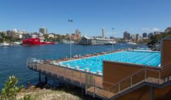 Take a scenic dip at Sydney's Andrew (Boy) Charlton Pool, it's a swim with a view.