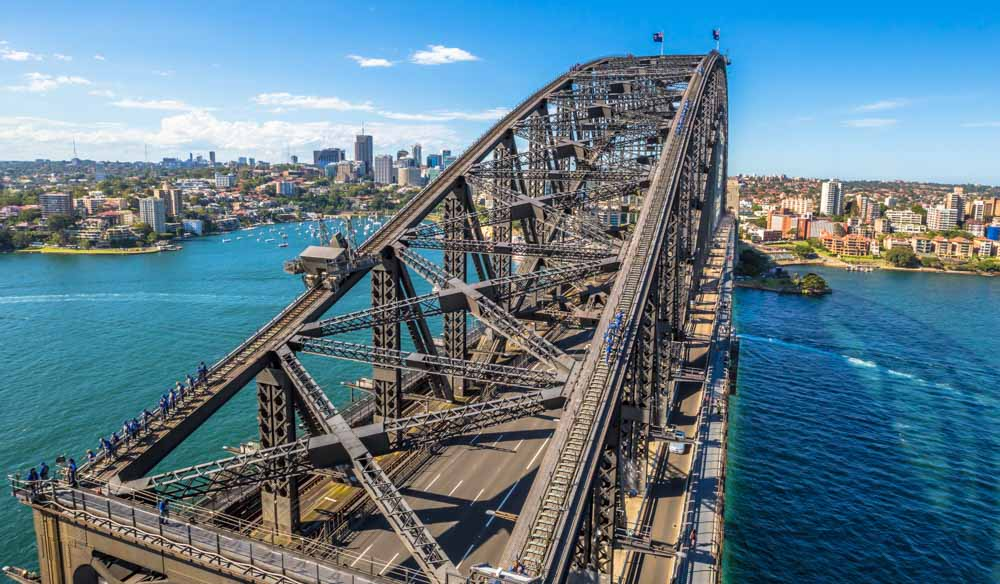 Sydney Harbour Bridge is a well-known icon around the world