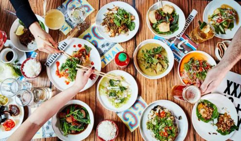 Fill a table with share plates at Chin Chin, Melbourne.