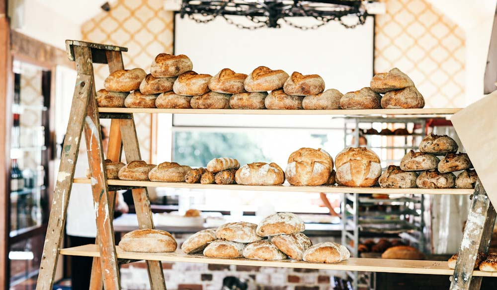 The old bakery at Harvest, Newrybar makes a tasty sourdough (photo: Elise Hassey).