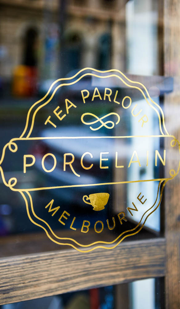 Melbourne's Porcelain Tea Parlour is open until 10pm most nights (photo: Tessa Ross-Phelan).