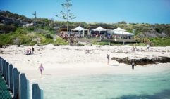 Margaret River's White Elephant Beach Cafe; stunning beaches and great food make a wonderful combination.