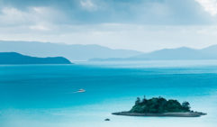 The incredibly blue waters around Hamilton Island. The pristine beaches and perfect views make this place a very desirable island escape.