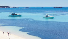 Wonder along the picturesque beaches on Rottnest Island