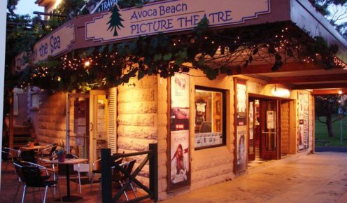 When it rains at Avoca Beach, watch a film at this charming Picture Theatre.