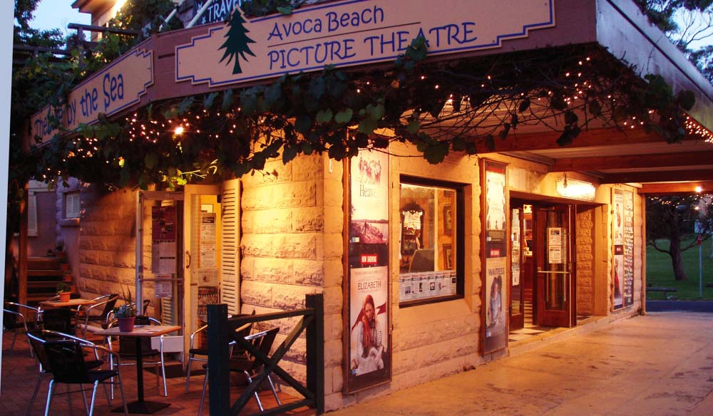 Watch a film at the charming Avoca Beach Picture Theatre
