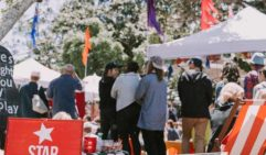 Avoca Beachside Markets are run once a month at Heazlett Park (photo: Christopher Perkins).
