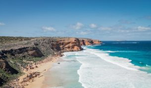 south australian road trips the coastal way driving beach views