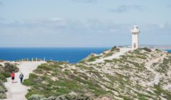 Cape Spencer Lighthouse on the Yorke Peninsula, SA (photo: Michael Wee).