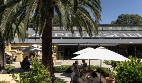 An al fresco lunch at  Fino, it's the perfect combination of food, wine, and culture in the Barossa (photo: Leigh Griffiths).