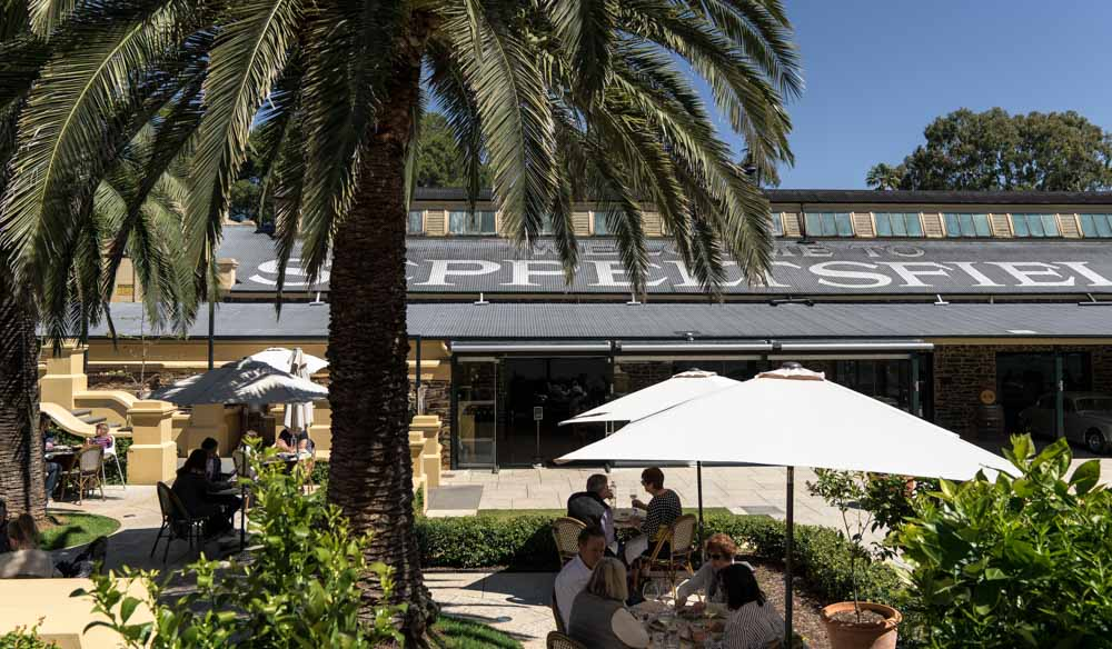 Dine alfresco for lunch at Fino in Barossa