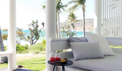 The Beachfront Suites are a stone's throw from the pure white sand on Lizard Island (photo: Megan Arkinstall).