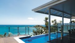 Lizard Island Villa guests can take a dip in their own private plunge pool.