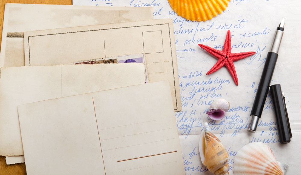 Have we lost the art of writing a postcard?
