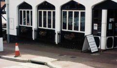 The mock Tudor façade of the Best Drop Tavern Restaurant, Kalamunda (photo: James Whineray).