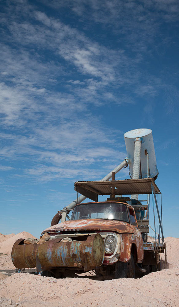 Old mining truck Coober Pedy