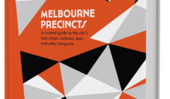 Part of a stylish travel book series, Melbourne Precincts.