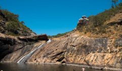 Serpentine Falls: walk the trails, have a swim to cool off. Repeat process. (photo: Ella Liascos)