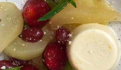 Ashcrofts Bistro (Blackheath) coup de grâce: French vanilla bean crème brûlée.