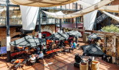 Jam Packed cafe at the Henry Jones Art Hotel