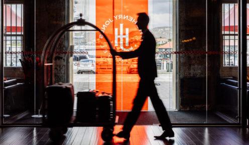 Foyer of the Henry Jones Art Hotel
