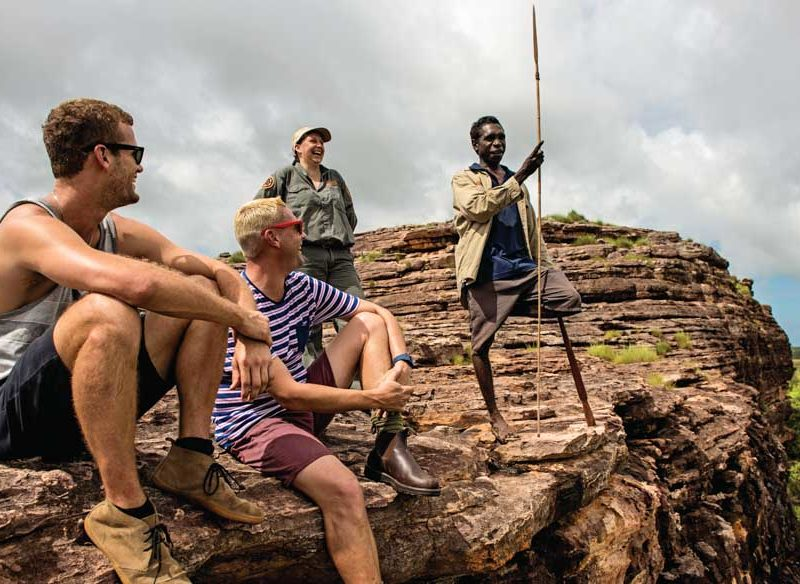 culture australian outback walking holiday