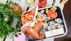 Seafood feast fit for royalty. Crown Plaza Coogee.