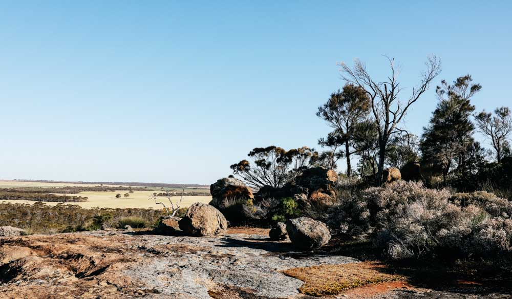 The Humps, a granite formation in WA