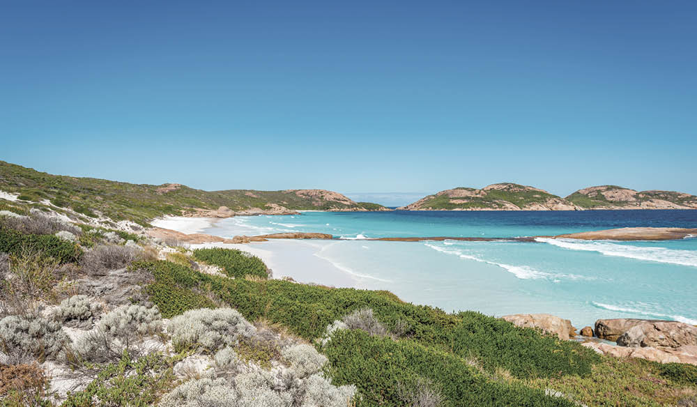 The perfection of Lucky Bay, Esperance.