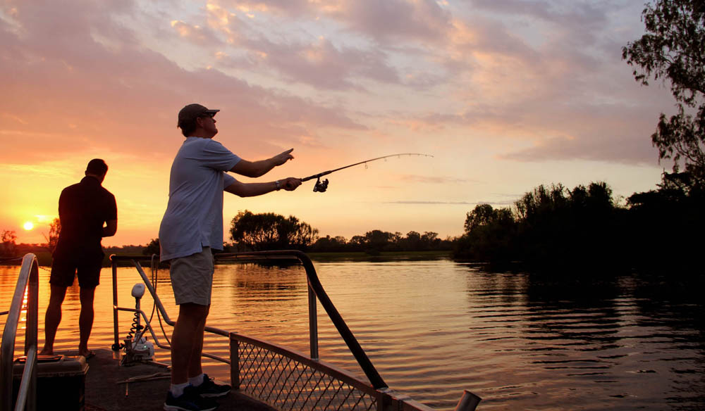 Fishing Kakadu Nothern Territory holdays attractions culture outback