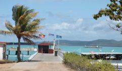 The ferry terminal on Thursday Island. QLD (photo: Steve Madgwick).