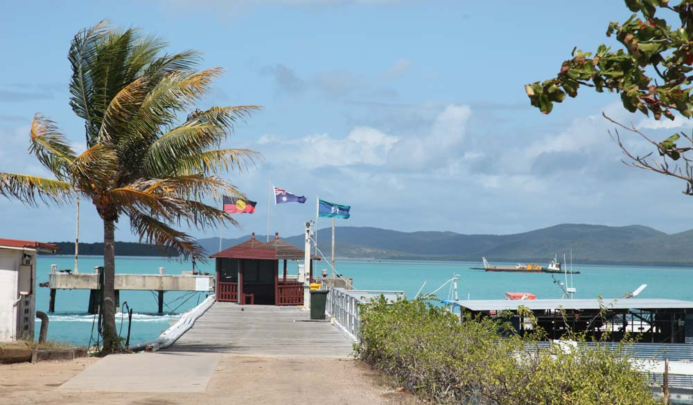 ferry terminal on Thursday Island, QLD