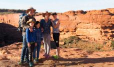 walking hiking family holidays adventure australian outback northern territory
