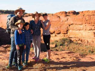 Matt Hayden, Kings Canyon Rim Walk