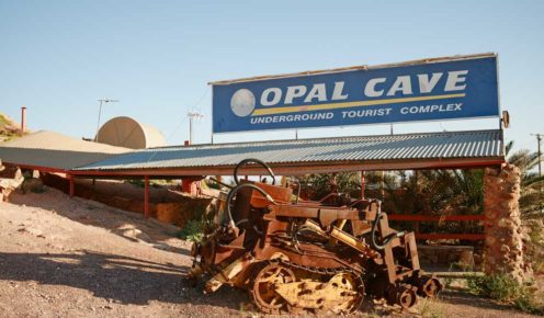 You'll have ample opportunity to explore opal mines and check out the machinery used to excavate them (photo: Jonathan Cami).