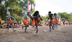 Mahbilil festival dancing