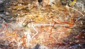 Rock art at Anbangbang