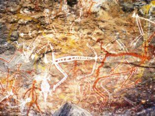 Rock art at Anbangbang