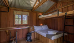 After completing what feels like the Tour de France , relax in the Spicers Cumber Cabins (photo: Lara Down).