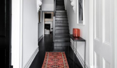 The Fremantleluxury guesthouse has the stairwell of a Parisian apartment.